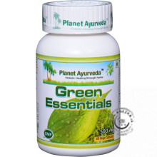 Green Essentials - 60 kapsúl, Planet Ayurveda EXP 31/10/2019