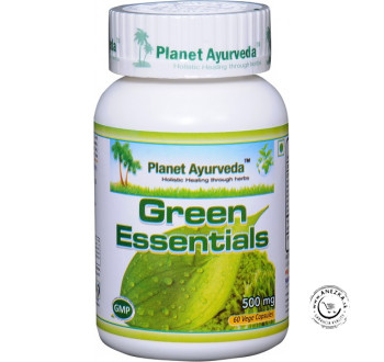 Green Essentials - 60 kapsúl, Planet Ayurveda
