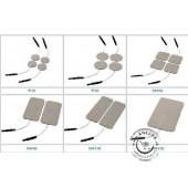 Samolepiace elektródy 80x130 mm (2 ks) na TENS prístroj - káblové napájanie