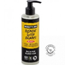 BLONDE WITH BRAINS - Balzam na blond vlasy s dávkovačom 250ml, Beauty Jar