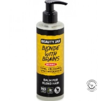 Balzam na blond vlasy s dávkovačom (Blonde with brains) 250ml, Beauty Jar