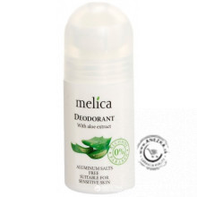 Deodorant antiperspirant Aloe 50ml, Melica