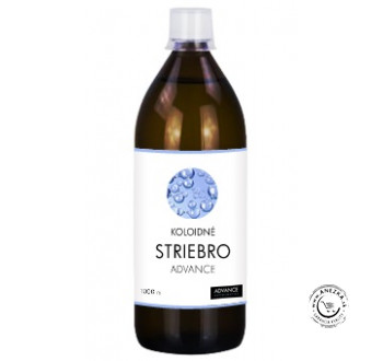 Koloidné striebro 20ppm 1000ml, Advance