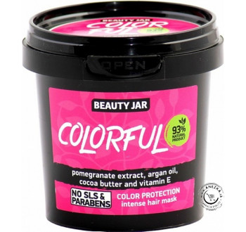 Maska na farbené vlasy - Colorful 150g, Beauty Jar