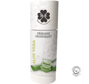 Prírodný deodorant (roll-on) BIO - aloe vera 25ml, RaE