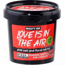 Penivá soľ do kúpeľa pre páry - Love is in the air 200g, Beauty Jar