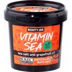 Soľ do kúpeľa proti celulitíde - Vitamin Sea 200g, Beauty Jar