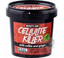 Suchý peeling proti celulitíde - Cellulite Killer 150g, Beauty Jar