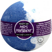 Šumivá bomba do kúpeľa - Mrs. President 150g, Beauty Jar
