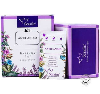 Anticandid - bylinný čaj porciovaný 15x2,5g, Serafin
