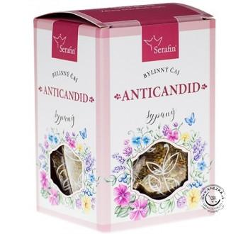 Anticandid - bylinný čaj sypaný 50g, Serafin