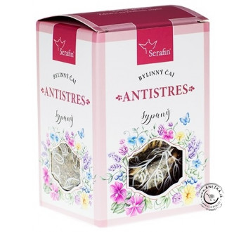 Antistres - bylinný čaj sypaný 50g, Serafin
