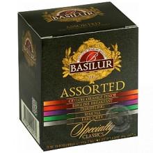 Čierny a zelený porciovaný čaj - Assorted Specialty 8x2g, 2x1,5g Basilur
