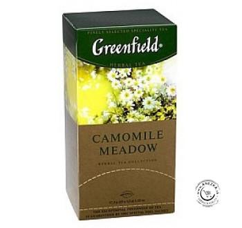 Porciovaný bylinný čaj - Camomile meadow 25x1,5g, Greenfield