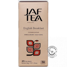 Čierny porciovaný čaj - Black English Breakfast 25x2g, Jaftea