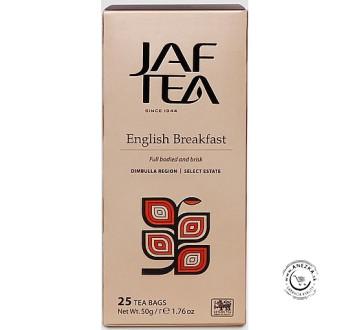 Čierny porciovaný čaj - Black English Breakfast 25x2g, Jaftea