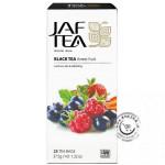 Čierny porciovaný čaj - Forest Fruit 25x1,5g, Jaftea