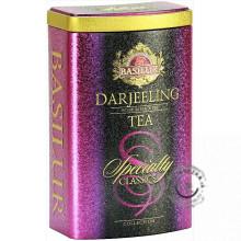 Čierny sypaný čaj - Specialty Darjeeling plech 100g, Basilur