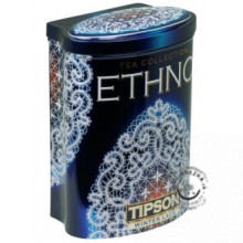 Sypaný čierny čaj - Ethno Winter Lace plech 100g, Tipson