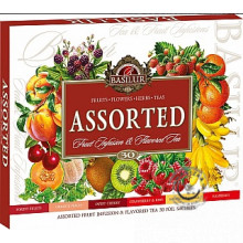 Čaje Fruit Assorted infusions 30 sáčkov, Basilur