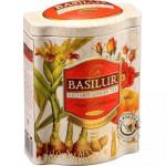 Ovocný sypaný čaj - Fruit Red Hot Ginger plech 100g, Basilur