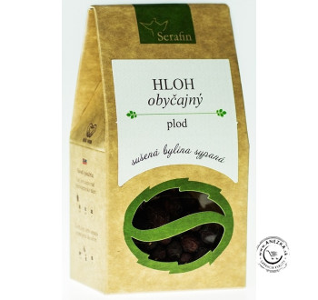 Hloh obyčajný - plod - bylinný čaj sypaný 30g, Serafin