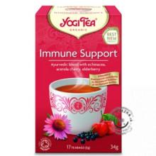 IMMUNE SUPPORT (PODPORA IMUNITY) – Ajurvédsky bylinno-ovocný čaj porciovaný BIO 17x2g