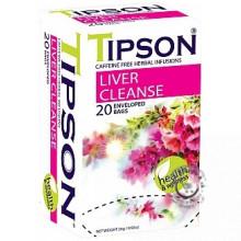 BIO porciovaný bylinný čaj - Liver Cleanse 20x1,3g, Tipson