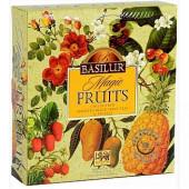 Porciovaný čaj - Magic Fruits Assorted papierová kazeta 80g (40 vreciek), Basilur