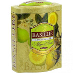 Čierny sypaný čaj - Magic Lemon & Lime plech 100g, Basilur