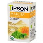 BIO porciovaný matcha čaj - Matcha Honey Lemon 25x1,5g, Tipson