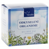 Odkyslenie organizmu - bylinný čaj sypaný 2x50g, Serafin