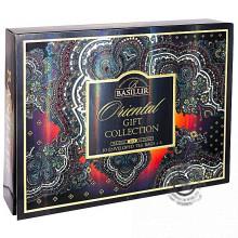 Porciovaný čaj - Orient Assorted papierová kazeta 110g (60 vreciek), Basilur