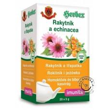 Rakytník a echinacea - imunita 20 x 3g, Herbex