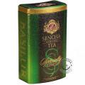 Zelené sypané čaje