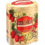 Ovocný sypaný čaj - Fruit Strawberry & Kiwi plech 100g, Basilur