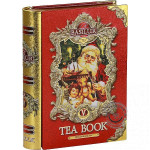 Sypaný čierny čaj - Tea book Red plech 100g, Basilur