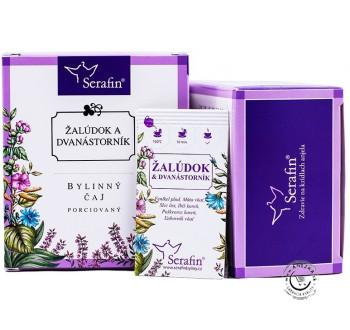 Žalúdok a dvanástorník - bylinný čaj porciovaný 15x2,5g, Serafin