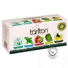 Zelený porciovaný čaj - Variace Green 50g, Tarlton