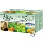 Zelený porciovaný čaj - MixGreen 4x5x1,75g