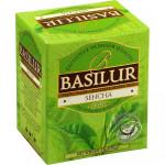 Zelený porciovaný čaj - Bouquet Sencha 10x1,5g, Basilur