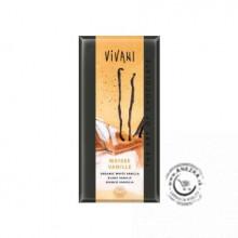 Biela čokoláda s vanilkou BIO - 100g, VIVANI EXP 31/05/2019