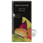 Horká čokoláda BIO 71% 100g, Bjornsted