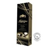 Prémiová čokoláda horká 70% a biela čokoláda 50g, CARLA
