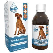 Sirup Beta-Glucan pre psy 200ml, Topvet