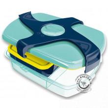 Veľký desiatový box Maped Concept - modrý