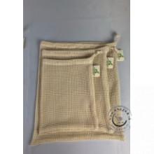 Bavlnené vrecko Veľké sieťované L 1ks, LuciVita