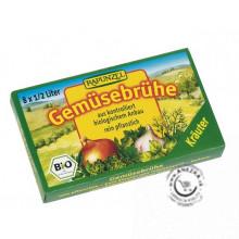 Bio zeleninový vývar bylinkový - bujón 84g (8 x 10,5g)