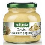 Horčica so zeleným korením 200g, Natureta