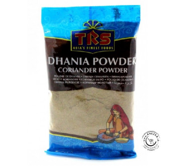 Mletý koriander - TRS Dhania powder 100g INDICKÉ EXP 31/07/2019
